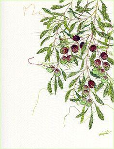 Olive Branch... tattoo idea?