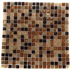 Home Depot Kitchen Backsplash Glass Tile