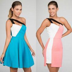 Ideas para BBC!! 2 vestidos de #daluna que nos encantan para #graduaciones. Azul con falda de vuelo o rosa con falda de tubo...¿Con cuál te quedas?  Vestido izda ➡ http://www.apparentia.com/nuestras-marcas/daluna/ficha/2520/vestido-de-vuelo-azul-violeta/ Vestido derecha ➡ http://www.apparentia.com/nuestras-marcas/daluna/ficha/2517/vestido-rosa-y-blanco-lirio/ #invitadas #vestidos #vestidosdefiesta #vestidoscortos #partydress #ideas #eventos #bodas #bautizos #comuniones #shoponline
