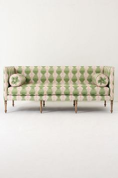 Ditte Sofa, Agave Ikat. Love this couch