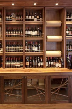 Italian delicatessen by Ghinlon Architecture, Dublin store design Liquor Shop, Liquor Bar, Beer Shop, Home Wine Cellars, Italian Cafe, Dublin, Food Retail, Wine Display, Bottle Shop