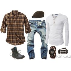 Rugged by keri-cruz on Polyvore featuring Palladium, August Steiner, Doublju, HUGO, women's clothing, women's fashion, women, female, woman and misses