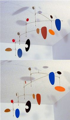 """Wilco"" - hanging mobile by Unigami    #calder"