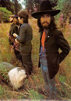 Martha photobombs The Beatles