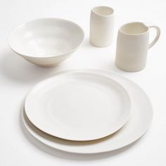 Ripple White Dinnerware  Inspired by the rippling tides of water, this collection embodies the organic simplicity of nature's most basic elements.