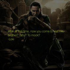 marvel character quote • loki