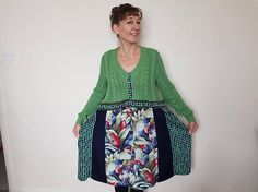 Upcycled sweater dress Plus size clothing Womens clothing Plus
