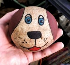 Painted rock animals - 40 Awesome DIY Projects Painted Rocks Animals Dogs for Summer Ideas – Painted rock animals Pebble Painting, Pebble Art, Stone Painting, Diy Painting, Garden Painting, Painting Videos, Painted Rock Animals, Painted Rocks Craft, Hand Painted Rocks