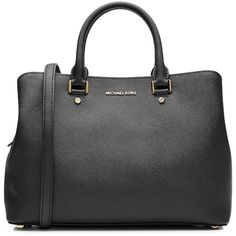 Michael Michael Kors Leather Tote (375 CAD) ❤ liked on Polyvore featuring bags, handbags, tote bags, black, handbag tote, zippered leather tote, zip tote, leather zip tote and genuine leather tote bags