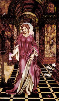Evelyn De Morgan art: Medea