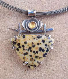 Dalmation Jasper Pendant