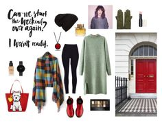 """""""City well"""" by esterschwartz on Polyvore featuring Chicnova Fashion, Dr. Martens, Sermoneta, Marc Tetro, I Love Ugly, Marlin Birna, Maybelline, Burberry, women's clothing and women"""