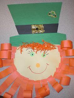 PATTIES CLASSROOM: St. Patricks Day Leprechauns and Writing