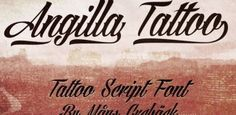 30 Best Free Tattoo Fonts