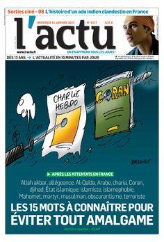 L'ACTU, le seul journal d'actualité pour les jeunes, dès 13 ans