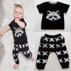 Find More Clothing Sets Information about 2016 Fashion Fox Baby Boys Clothing Children Child Boys T shirt Kids Cartoon Fox T shirt + Full Pants Baby Set Suit Boys Clothes,High Quality suits black,China clothes singapore Suppliers, Cheap clothes basket from Fashion Kids Wear on Aliexpress.com