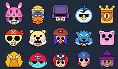 Star Emoji, Star Character, Cute Animal Drawings Kawaii, Star Diy, Star Comics, Clash Royale, Character Illustration, Belle Photo, Sticker Design