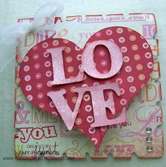 Crafting with Amy: February 2012