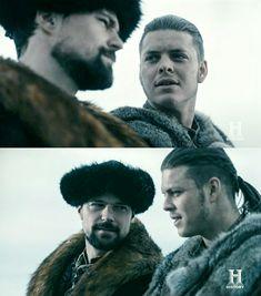 Ivar the boneless and Prince Oleg. Vikings Season 1, Ivar The Boneless, Vikings Tv Show, Tv Series, Tv Shows, Seasons, Actors, Movies, Prince