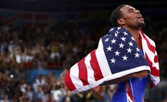 Jordan Burroughs, 2012 US Olympic Gold Medal Winner 74 Kilo Freestyle Men's Wrestling