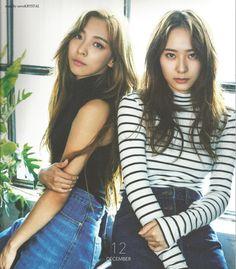 Krystal and Luna