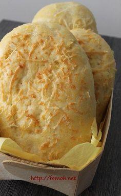 Ce pain au fromage est tout simplement délicieux, moelleux et très facile à réaliser; pour cela j'ai utilisé ma Famohpâte boulanger avec du fromage râpé!