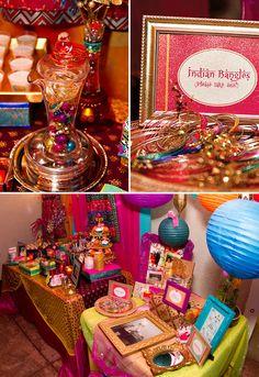 Vibrant & Exotic Bollywood 40th Birthday Party