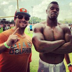 Evan Golden and Cameron Wake