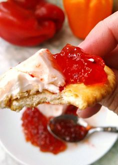 Hot Pepper Jelly for Saving Summer - A Kitchen Hoor's Adventures Pepper Jelly Recipes, Hot Pepper Jelly, Appetizer Recipes, Appetizers, Sunday Suppers, Stuffed Hot Peppers, Sweet And Spicy, Breakfast, Preserves