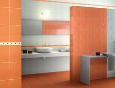 La fa ence pour votre salle de bain on pinterest for Carrelage 20x40 blanc