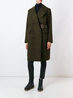 Sacai Military Coat - Feathers - Farfetch.com