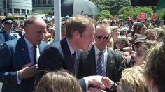 HRH Prince William opening Supreme Court in Wellington, NZ