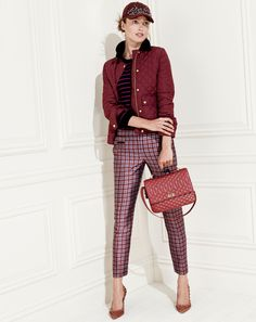 J. Crew September Style Guide - PLUM is the color of the season. #fashion #trends #fall2013