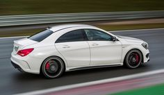 CLA45 AMG // red means speed