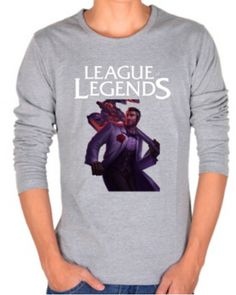 League of Legends plus size t shirt for men Jayce printed tee-