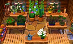 """acnl-lilypad: """" Some images of Rose's finished greenhouse / nursery! ✿♥‿♥✿ I really love it ✿♥‿♥✿ """""""
