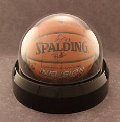 This is the coolest way to display a basketball! Dome Display Case - Basketball, Volleyball or Soccer Ball Tiny Man Cave Ideas, Eagles Man Cave Ideas, Sports Memorabilia Display, Volleyball Room, Soccer Ball, Basketball, Sports Man Cave, Friends In Low Places, Acrylic Display Case