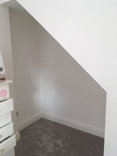 We recently converted an attic in a house. The space was stolen from a bedroom. Rather than losing the staircase from the bedroom, we opened up the space under the stairs allowing for a desk … Hidden Spaces, Attic Conversion, Under Stairs, Alcove, Bedroom, Storage, House, Purse Storage, Home
