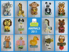 Animal Collection Marshmallow Pops 2011