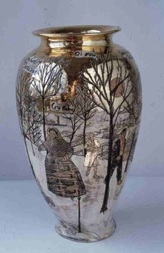 View Weve Found the Body of Your Child by Grayson Perry on artnet. Browse more artworks Grayson Perry from Saatchi Gallery. Ceramic Clay, Ceramic Pottery, Pottery Art, Grayson Perry, Contemporary Ceramics, Contemporary Art, Vases, Saatchi Gallery, Ceramic Artists