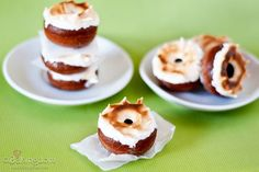 Mexican Hot Chocolate Donuts