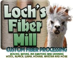 Lochs Fiber processing mill. 1 of only 2 worsted mills in USA