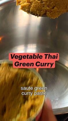 Lentil Recipes, Thai Recipes, Curry Recipes, Easy Chicken Recipes, Indian Food Recipes, Soup Recipes, Cooking Recipes, Vegetarian Meals For Kids, Vegetarian Recipes