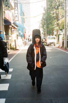 Rain Jacket, Bomber Jacket, Korean Fashion, Windbreaker, Retro, Cute, Jackets, Knock Knock, Girls