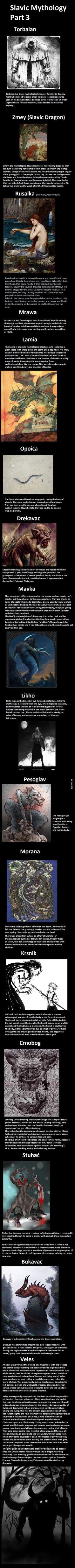 Slavic Mythology, monsters and gods, part 3