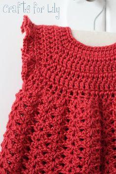 sew girly studio: Crochet Pinafore