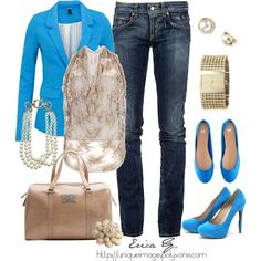 blue and jeans