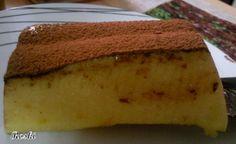 Este flan de queso lo hacemos en casa siempre Claro que con queso en crema y azúcar ......... y pensé que no se podría hacer en la diet...