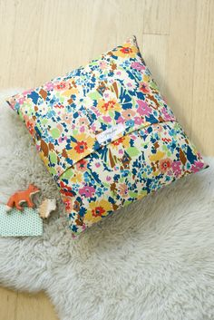 sweet little DIY Anna Joyce created for the new Liberty of London Craft Blog