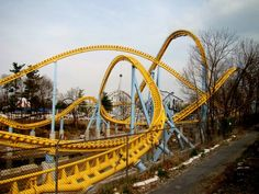 Hershey Park's Skyrush; new this season;  can't wait to get some cash and go to ride this!